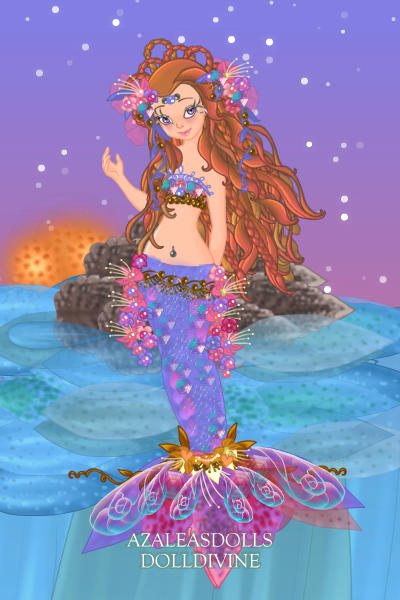 Glitzed out Mermaid ~