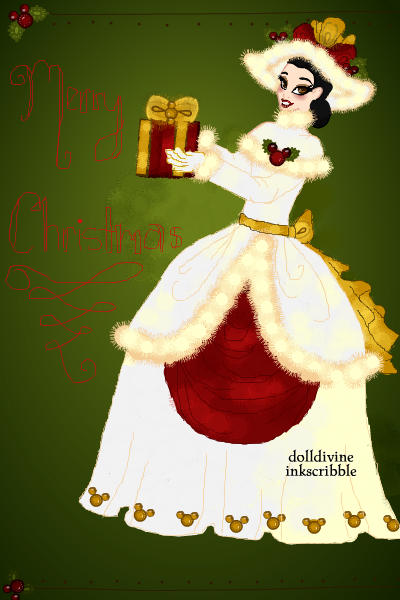 Minnie Mouse Christmas ~ Based off the beautiful Minnie and Micke