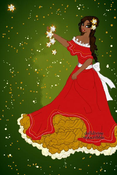 Christmas In Mexico! ~ The stars are supposed to represent the