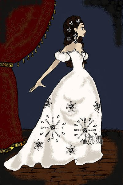 Christine Daae ~ Think of me, think of me fondly when we'