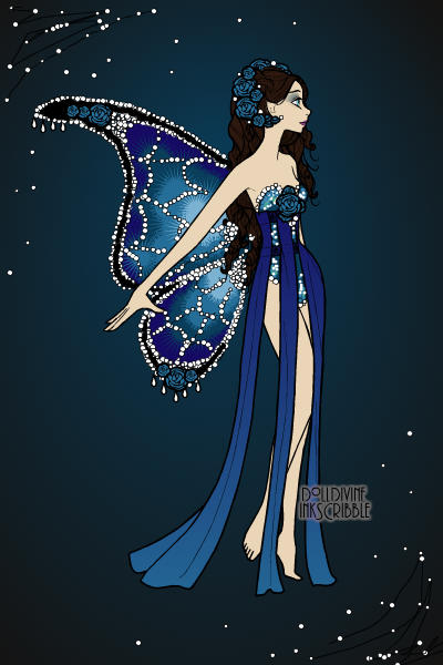 Tha fairy of Blue Roses ~ Is there even such a thing as blue roses