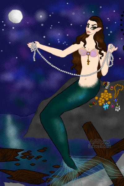 The Mermaids Song ~ The wood is a shipwreck. :)