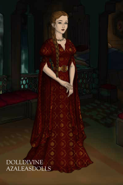 Lady in Waiting: Imogene ~ A lady in waiting to Queen Guinevere. #a