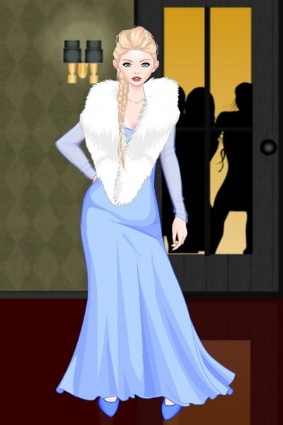 Elsa in her Evening Gown ~ #Disney #disneyineveninggowns #frozen