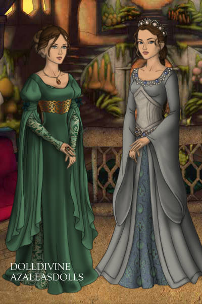Lynette and Lyonesse ~ #arthurianlegend