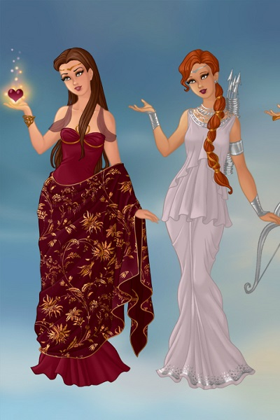 Aphrodite and Artemis ~ Information about them in the comments.