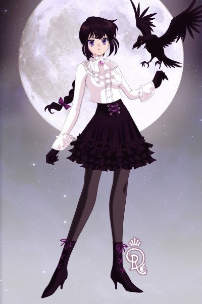 Princess of Ravens (civilian form) ~ Just her non-transformed self. Her outfi
