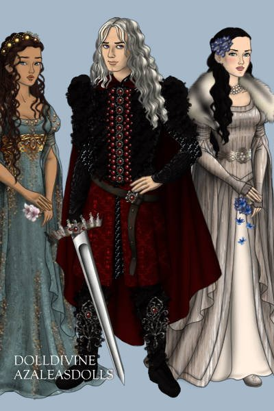 Elia, Rhaegar and Lyanna ~ Crown prince Rhaegar was married to prin