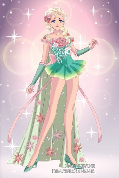 Sailor Elsa Frozen Fever By Thatpsychochic