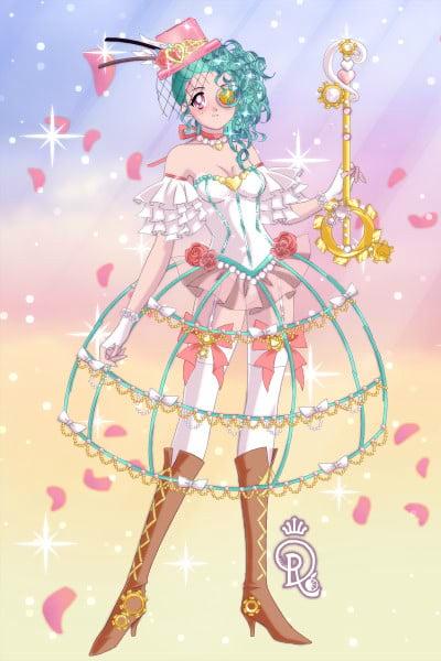 pastel steampunk lolita