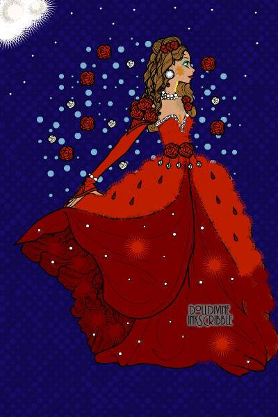 Lady in Red - Thank You Amy43 for Being  ~