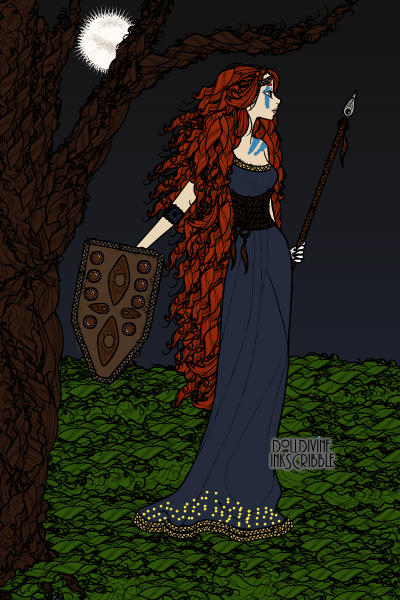Warrior Queen Boadicea of the Iceni ~