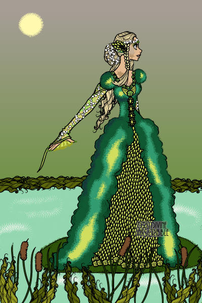 Green Queen (for Darkwater) ~