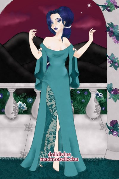 Ari\'imaa, the royal nanny ~ I've just created my own Tanjian charact