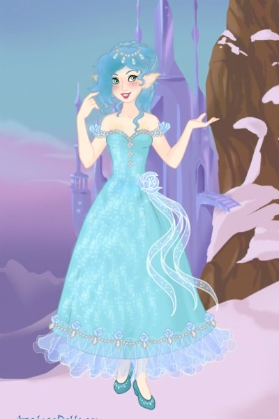 Fulsi ~ Her nickname :-) I created another dress