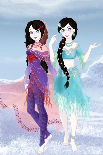 Ai\'lahi and Lak\'isha ~ My Tanjian OCs! Finally! :-) Description