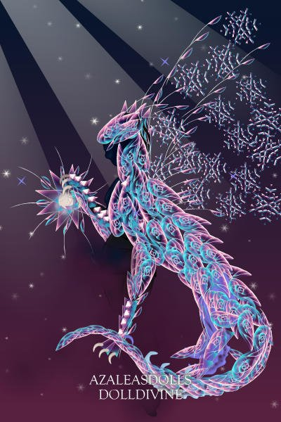 Prismic Dragon... hanging stars ~