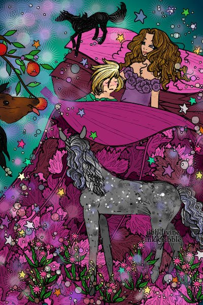 All the Pretty Little Horses ~ My daughter's favorite lullaby...