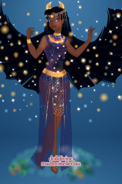 Winged Nut ~ Egyptian sky goddess :)