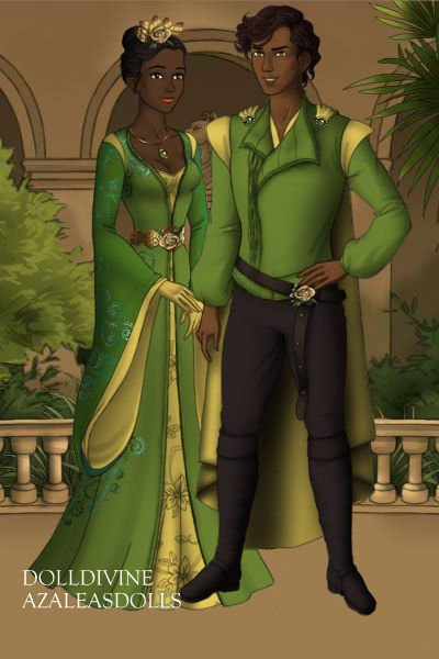 Tiana and Naveen ~ #disney #princessandthefrog #princesstia