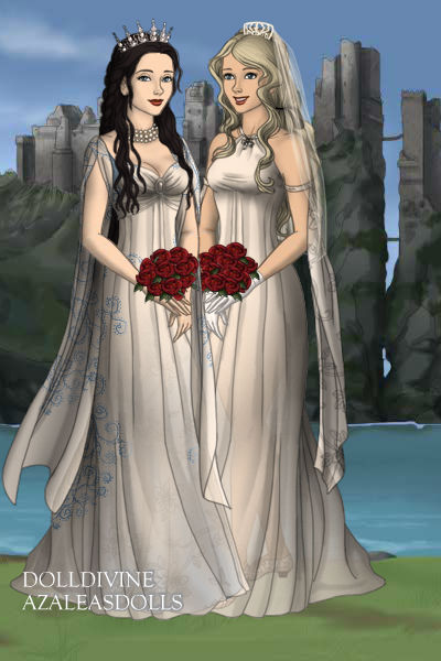 Harper and Luna ~ #bride #weddingdress #LGBTQ #pride