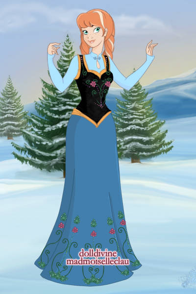 Anna ~ Well, I mean... I made Elsa, so obviousl