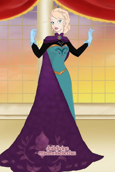 Elsa\'s Coronation Gown ~ I really love her other dress, but I tho