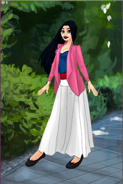 Mulan ~ I wasn't sure which of her outfits to ba