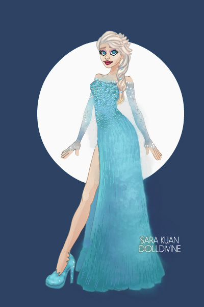 Elsa ~ The most accurate Elsa I could manage on