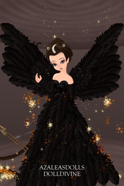 Katniss Everdeen Catching Fire Black Dress By Falak