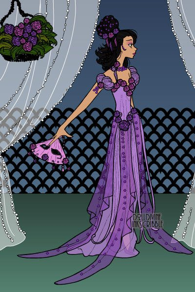 Violet, Carmella\'s Maid of Honor ~ This is Violet. I created her to be Hotc
