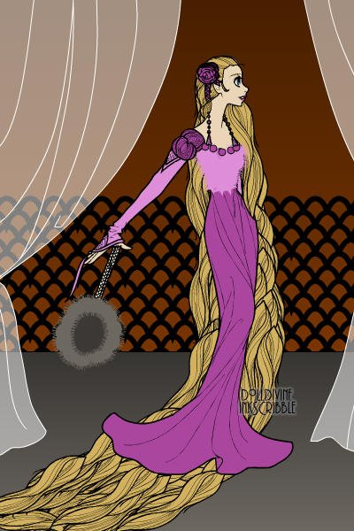 Rapunzel -remake ~ This is a remake of LuckyOwl's Rapunzel.