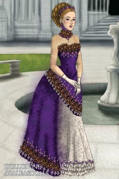 Regal Purple remake of Regal Blue by Ina ~ This is a remake of the lovely Inanna's