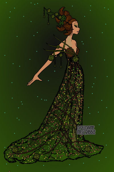 Rain Forest Couture ~ For AshleyHolmes as part of a doll trade