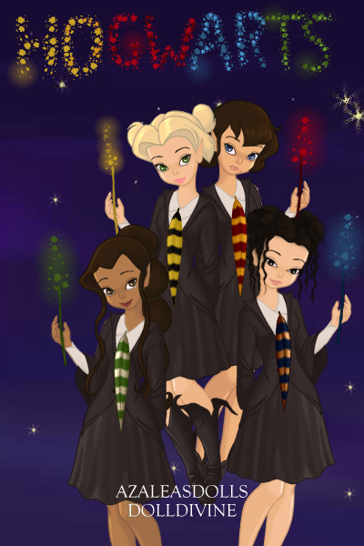 Our School Spirit! ~ Ch 4 Ending:The Ravenclaws descended the