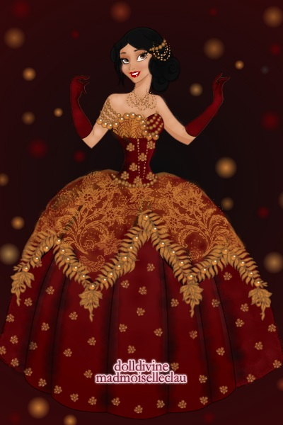 My Christmas Ballgown ~ I have a love for big elaborate ballgown