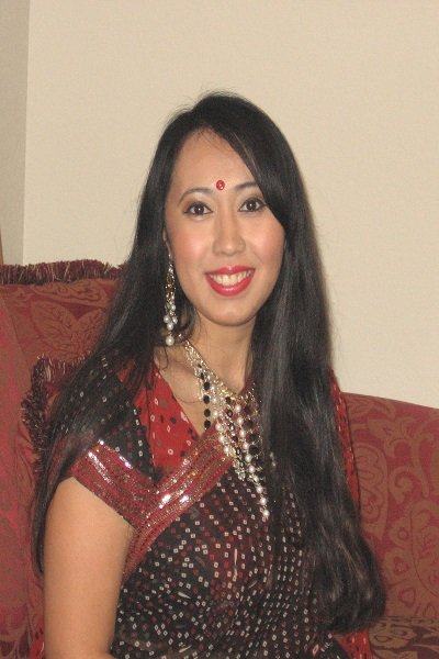 Me in Ethnic Bengali Sari ~ So, here is an old pic of me wearing a B