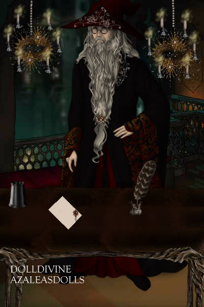 Dumbledore in His Study ~ For Hogwarts House Cup on the forum.