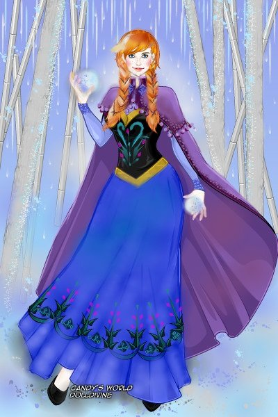 Wanna Build A Snowman: Anna ~ Anna is part of my #Disney collection. Y