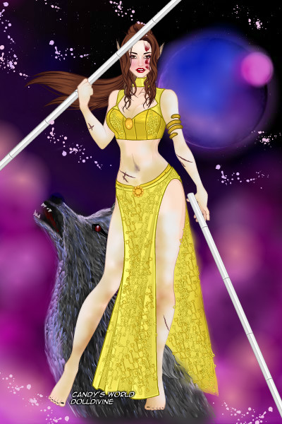 The Beast Master Belle ~ For the forum contest Re-Interpreting Di