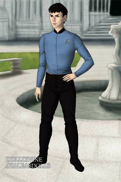 Mr. Spock ~ From the original Star Trek series.  Sor