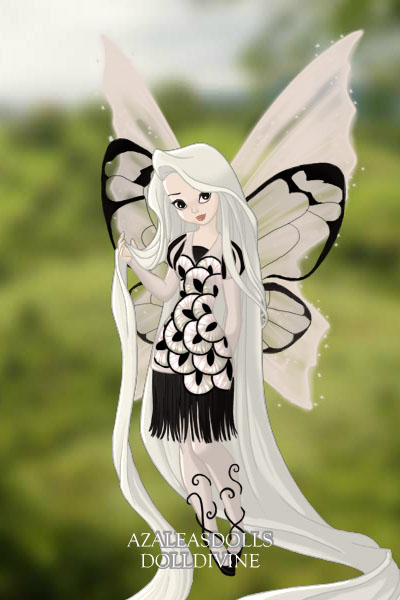 Paperwhite Butterfly ~ I'm experimenting with using wings for w