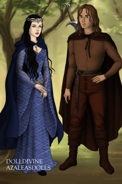 Irissa and Kendric ~ From the Sword and Circlet series by Car