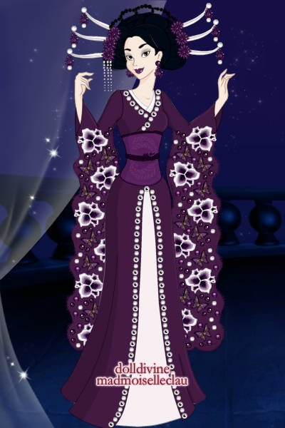 Inanna\'s Winter Maiko Reminiscent ~ This started out to be a remake of this