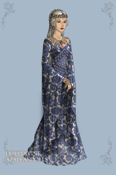 Blue Delft ~ This started out as a re-envisioning of