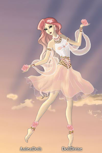 Rose Blush ~ Like Aurora, she dances in the spring da