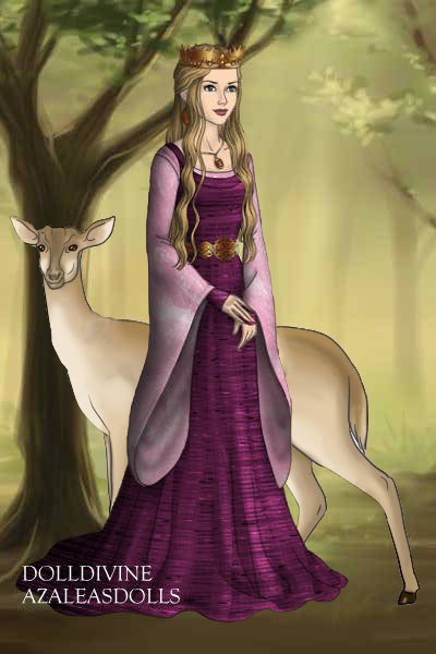 The Hind in the Wood ~ This French fairy tale is also known as