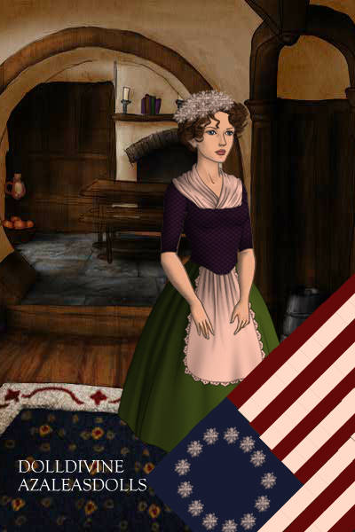 Betsy Ross for Independence Day ~ Betsy Ross was widely credited with desi