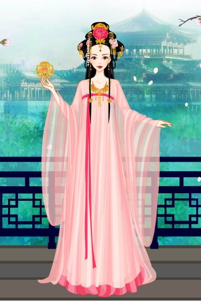 Empress in Pink ~ From the new Empress of China game.  It'