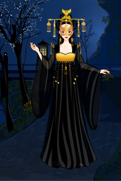 Dark Empress Masquerade ~ Made in the Empress of China game, this